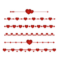 set border wedding vector image