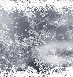 Snowflakes Borders vector image