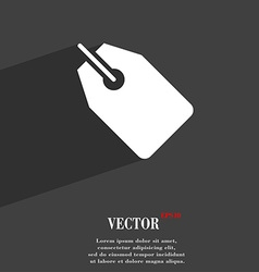 Web stickers tags and banners symbol Flat modern vector