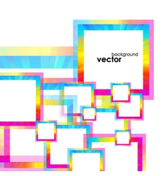 Abstract frames Background vector image