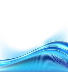 Blue modern folder background line layout border vector image vector image