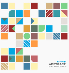abstract of colorful with copy space pattern vector image