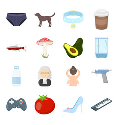 Business picnic science and other web icon vector