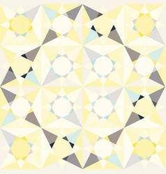 Kaleidoscope glass mosaic tiles seamless vector