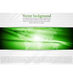 Modern tech business design vector image