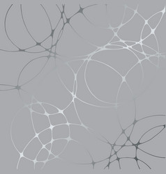 Silver abstract gray decorative background vector