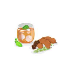 Tamarind juice vector