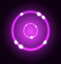 Abstract background with violet circle vector image
