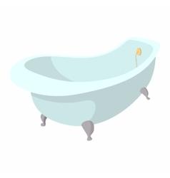 Bath cartoon icon vector