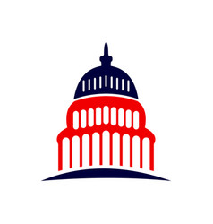 Capitol dome logo capitol dome logo vector