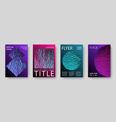 catalog cover templates vector image