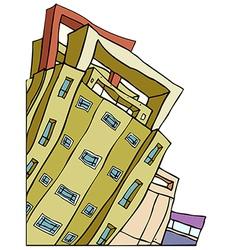 Creative Skyscraper vector image