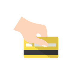 credit card payment vector image