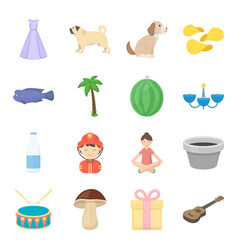 Event tourism picnic and other web icon in vector