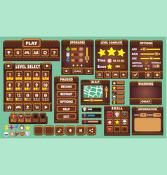 Game gui 43 vector