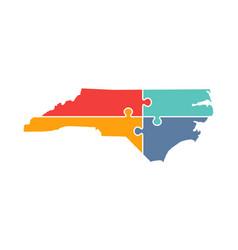 North carolina rebuild logo vector