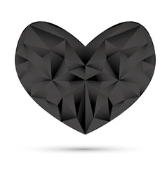 valentines card origami vector image