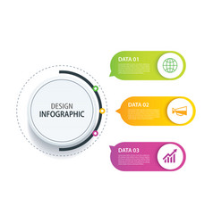 3 infographic design and marketing iconcan be vector
