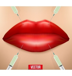 A botox injection vector