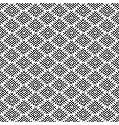 Black ethnic regular seamless pattern pr vector