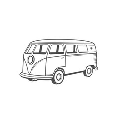 Camper one logotype vector
