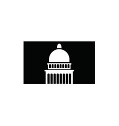 capitol dome logo capitol dome logo vector image