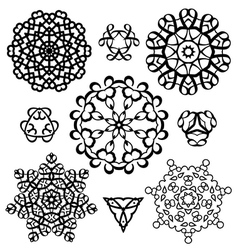 Creative design elements and ornaments vector