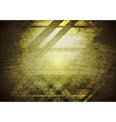 Dark grunge tech background vector image
