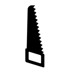 Hand saw icon vector