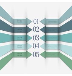 Infographics design variation 1 vector