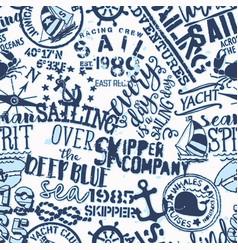 kids skipper company sailing adventure vector image