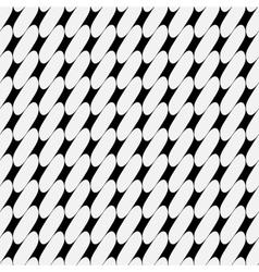 Oval geometric seamless pattern 307 vector