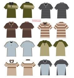Polo t shirt design vector image