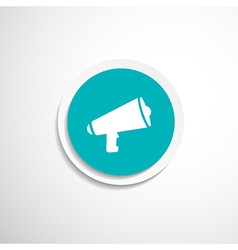 speaker icon broadcasting speak isolated scream vector image