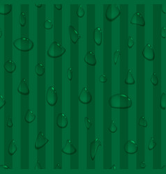Water drops seamless background vector