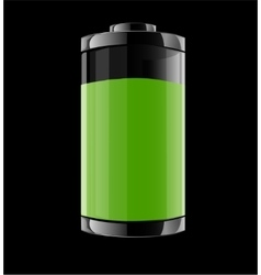 with battery vector image