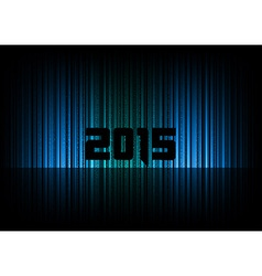 2015 abstract lines black vector image