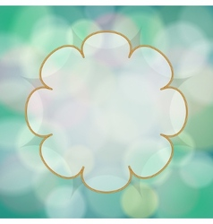 abstract background with bokeh light effects vector image