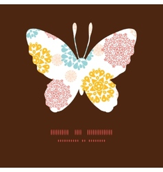 abstract decorative circles stars butterfly vector image