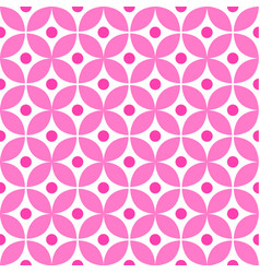 cute pink pattern vector image