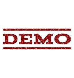 Demo Watermark Stamp vector