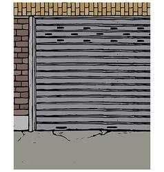 Derelict Street Scene vector