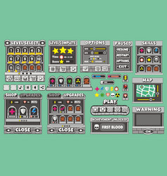 Game gui 48 vector