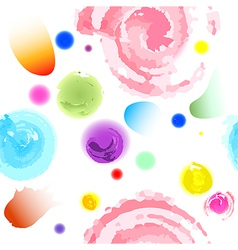 seamless water colors pattern vector image