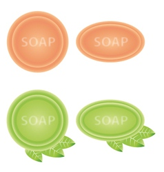Soaps isolated vector