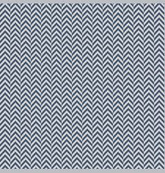 blue gray herringbone decorative pattern vector image