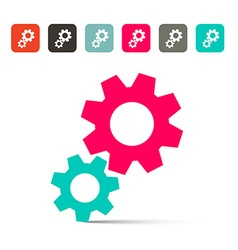 Cogs - Gears Icons vector