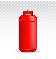 Creative of gas cylinder tank vector