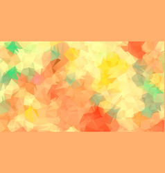 frash color abstract triangle background vector image