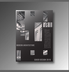 Modern architecture background design for printing vector